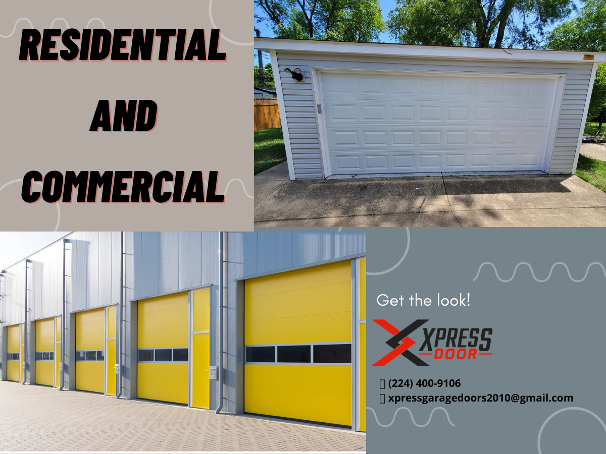 Residential and commercial garage door services